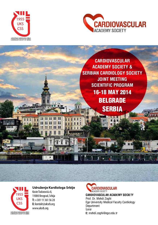 Kardiyovasküler Akademi Derneği ve Sırp Kardiyoloji Derneği Ortak Toplantısı